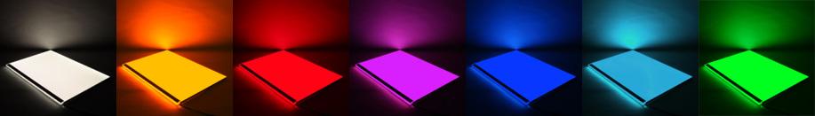 Volltonfarben LED-Flächenlicht Module RGB