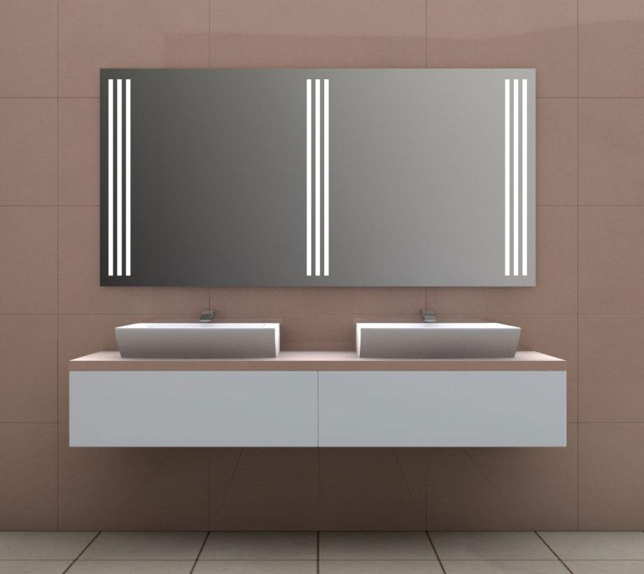 LED-Flächenlicht - Hinterleuchtung eines Badezimmerspiegels