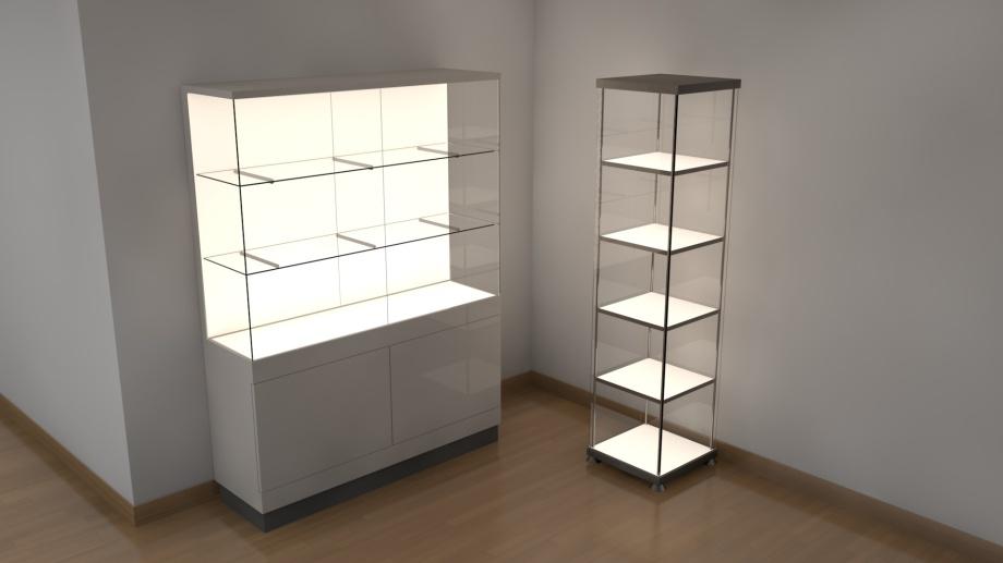 LED-Flächenlicht FRAMELESS-W im Möbelbau