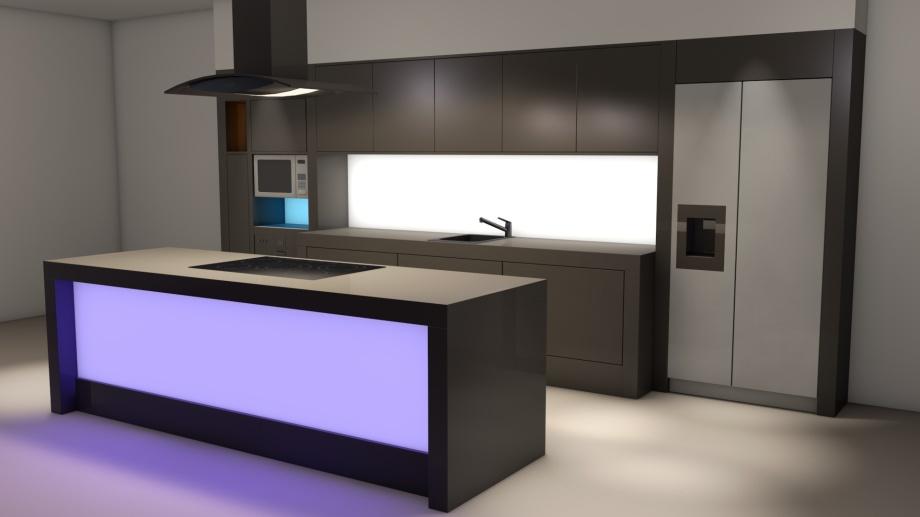 Bekannt Flaechenlicht LED-Flächenlicht randlos Beschreibung Anwendung OZ72
